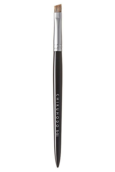 CHIKUHODO Eyebrow brush. Кисть для бровей
