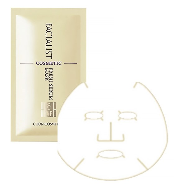 C'BON FACIALIST. Fresh Serum Mask С. (маска-серум с витамином С)